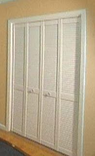 ReliaBilt 36 In X 79 In Louvered Solid Wood Core Interior Bifold Closet Door
