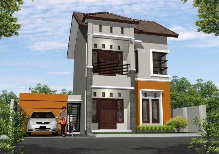 Gambar Desain Rumah Minimalis Type 54 Modern Lensa Rumah In 2018