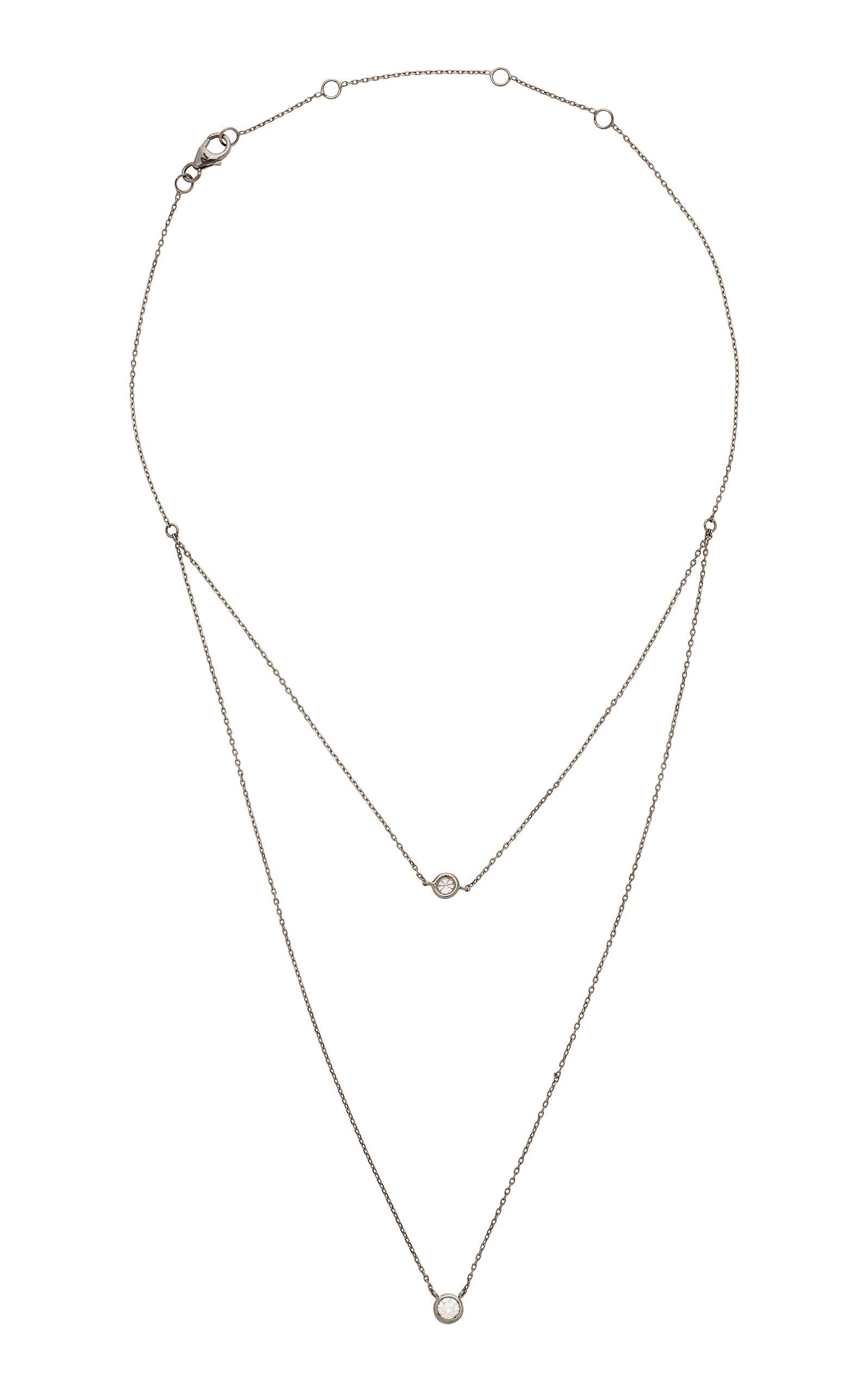 Jack vartanian k white gold and black rhodium lightbrown diamond