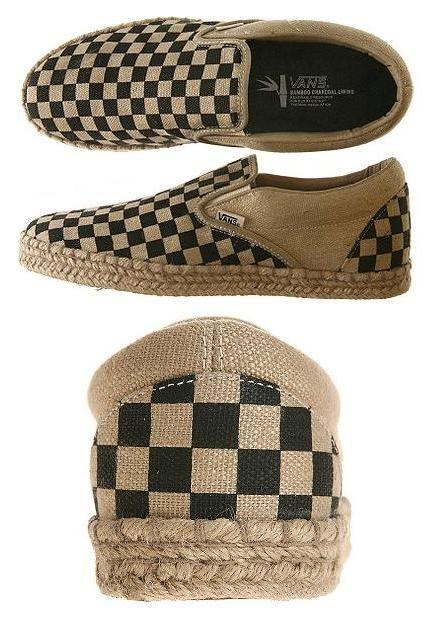 3b6a140029 vans checkerboard slip-on bamboo