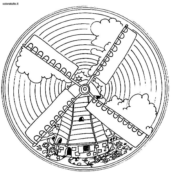 Coloring pages special mandala - picture 213 | Mandala | Pinterest