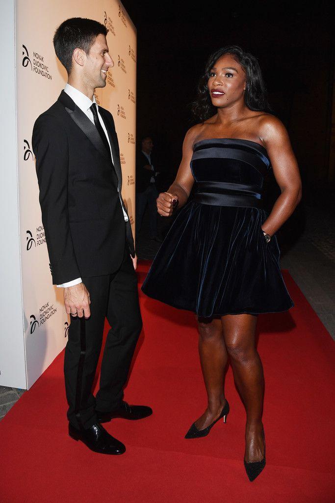 "garbine-muguruza  "" Novak Djokovic and Serena Williams attend the Milano  Gala Dinner benefitting the Novak Djokovic Foundation presented by Giorgio  Armani ... 6eb170d2bdd"