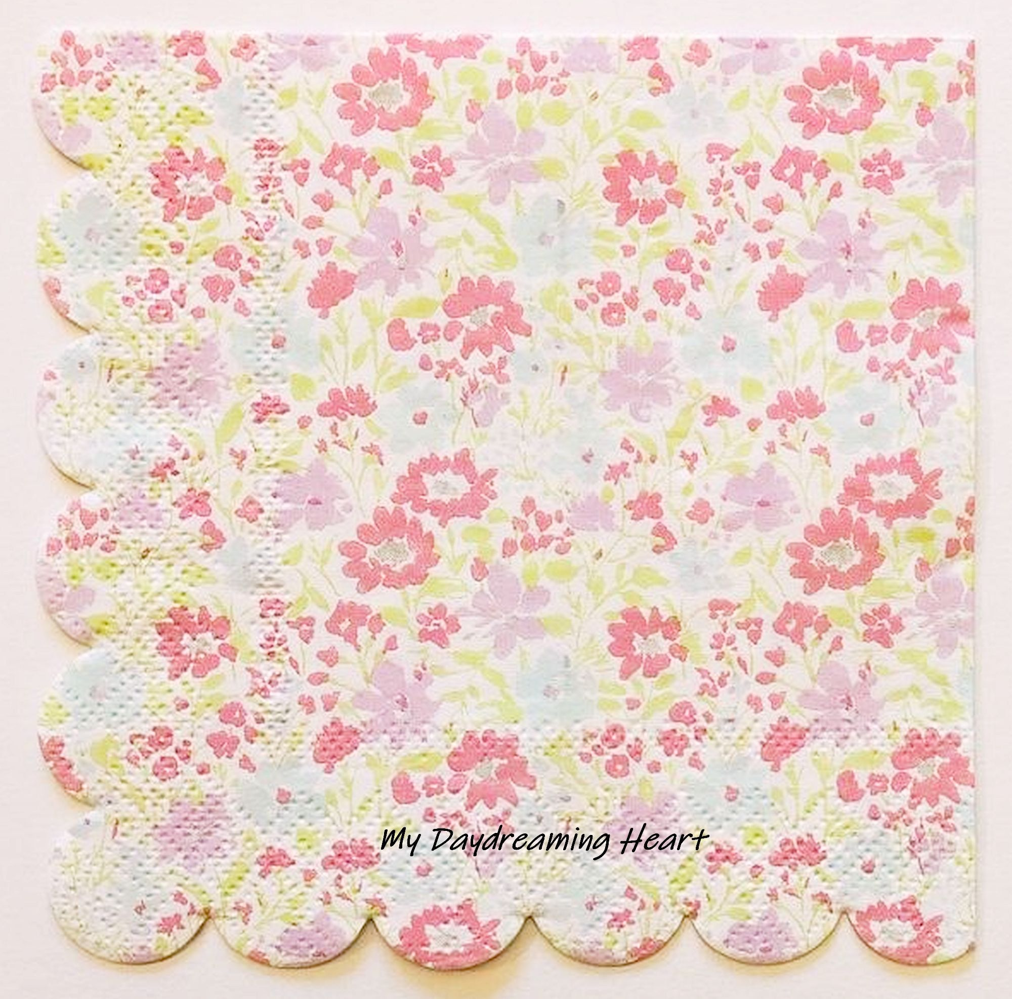 4 x Paper Napkins Hearts   for DECOUPAGE and CRAFT-59