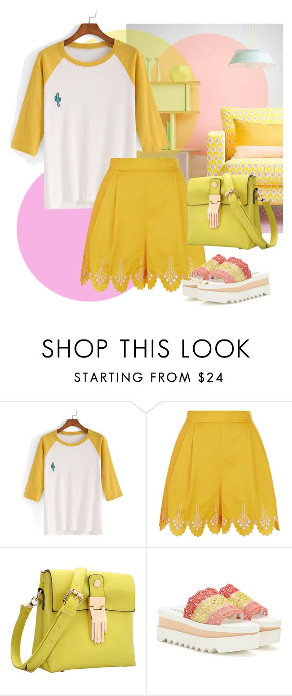 """Untitled #1577"" by ilona-828 ❤ liked on Polyvore featuring Temperley London and STELLA McCARTNEY"