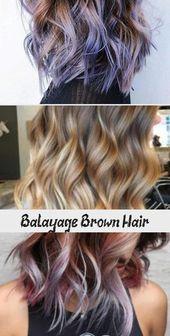 Brown Balayage Hair Color Ideas  #Brown #Balayage #balayagehairRubio #balayageha… – Christmas-Desserts