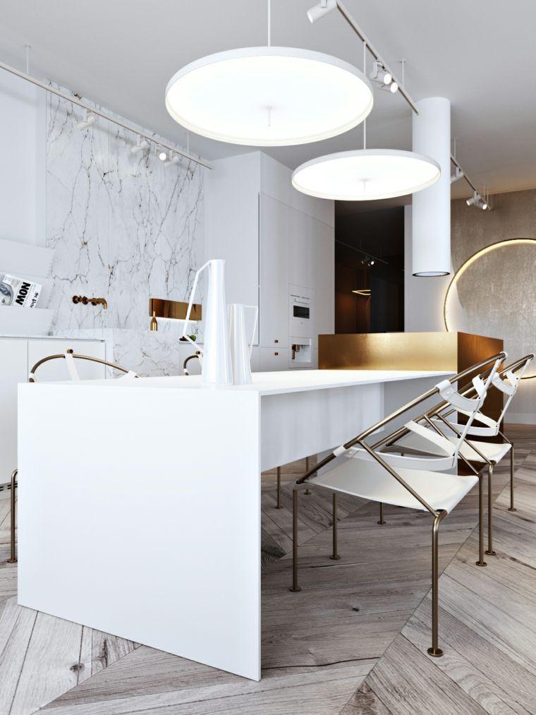 Décorer Son Appartement Et Sa Cuisine Avec Des éléments Dorés Rustic  Kitchen Decor, Gold Interior