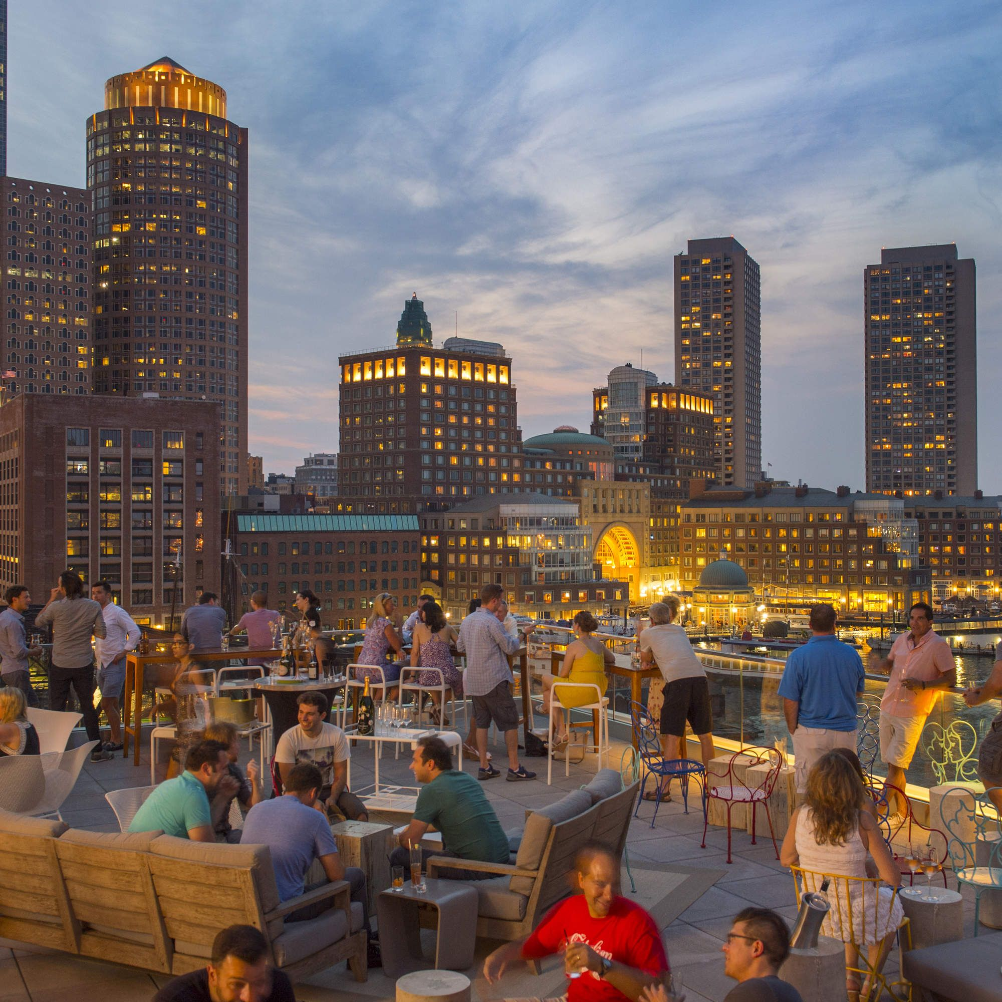 The Most Essential Rooftop Bars In Boston Boston Vacation Boston Travel Best Rooftop Bars