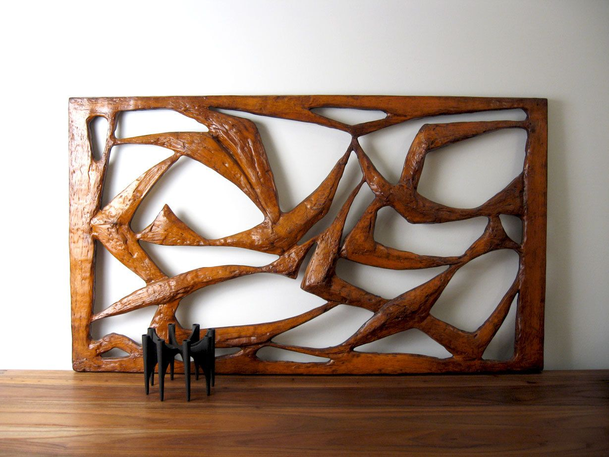 mid century danish modern wall art large brutalist on large wall art id=80797
