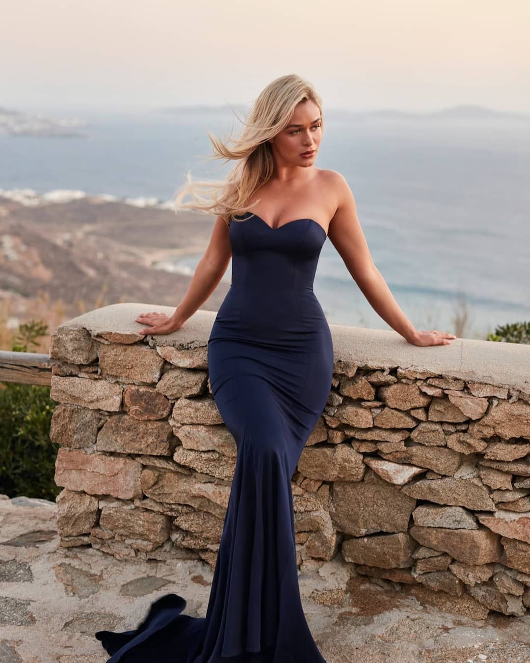 d643b9cbc6a5d Kiara strapless fitted sweetheart formal maxi dress, featuring a soft  stretch crepe satin with a fishtail hem for a stunning entrance to any  black tie event ...