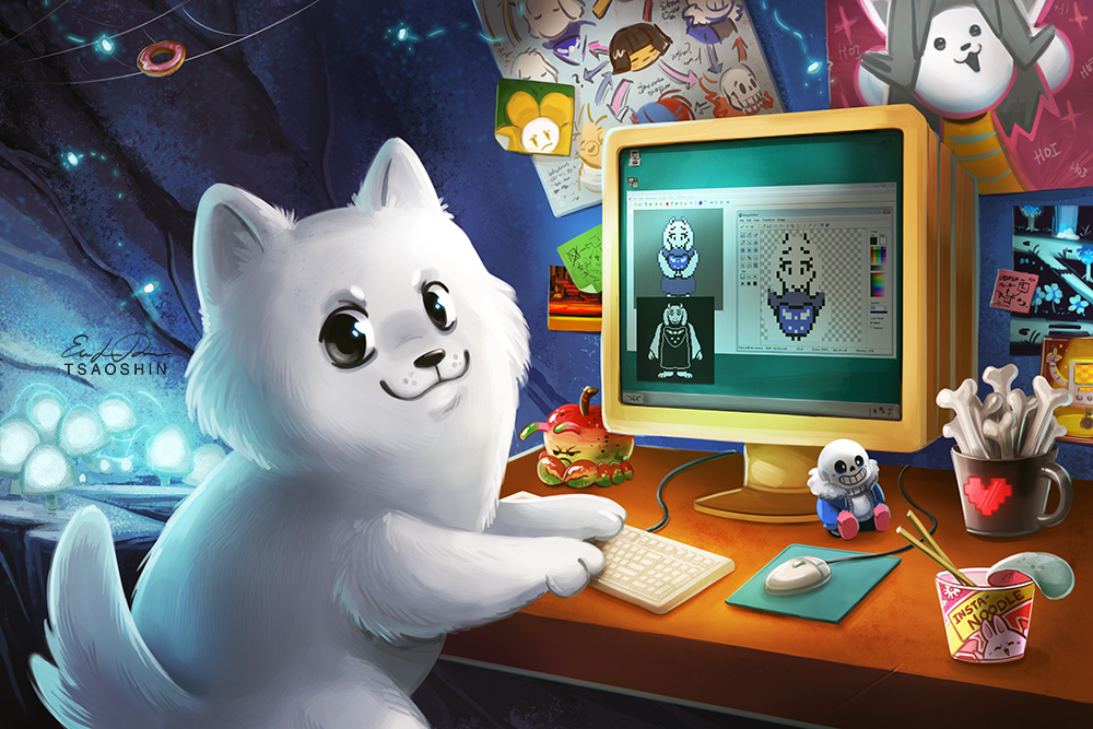 Toby Fox By Tsaoshin On Deviantart Undertale Undertale Fanart Undertale Cute