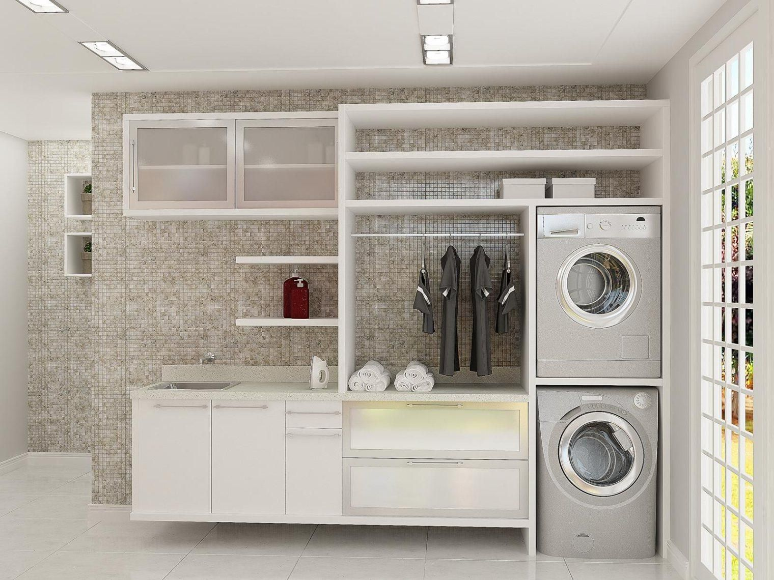 Laundry Room Wall 50 Ways To Make Your Laundry Room Pop  Minimalism Laundry And
