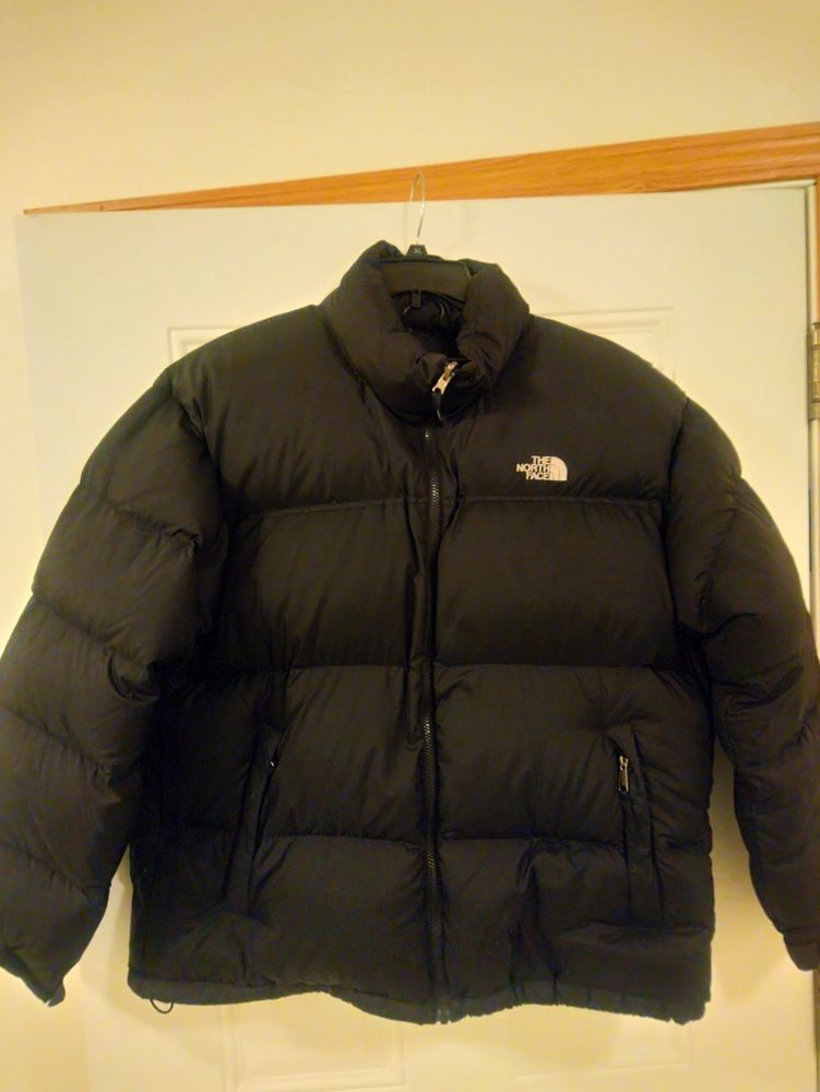 54a9d4cb17 THE NORTH FACE 700 GOOSE DOWN JACKET SIZE XXL BLACK CLEAN!!!  fashion