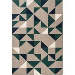 benuta Trends tapis à poils courts dessert gris 120×170 cm – tapis moderne pour …