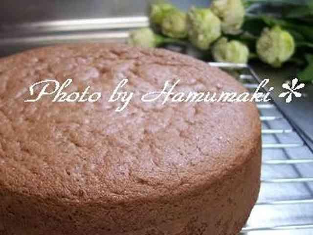 チョコレート ケーキ スポンジ