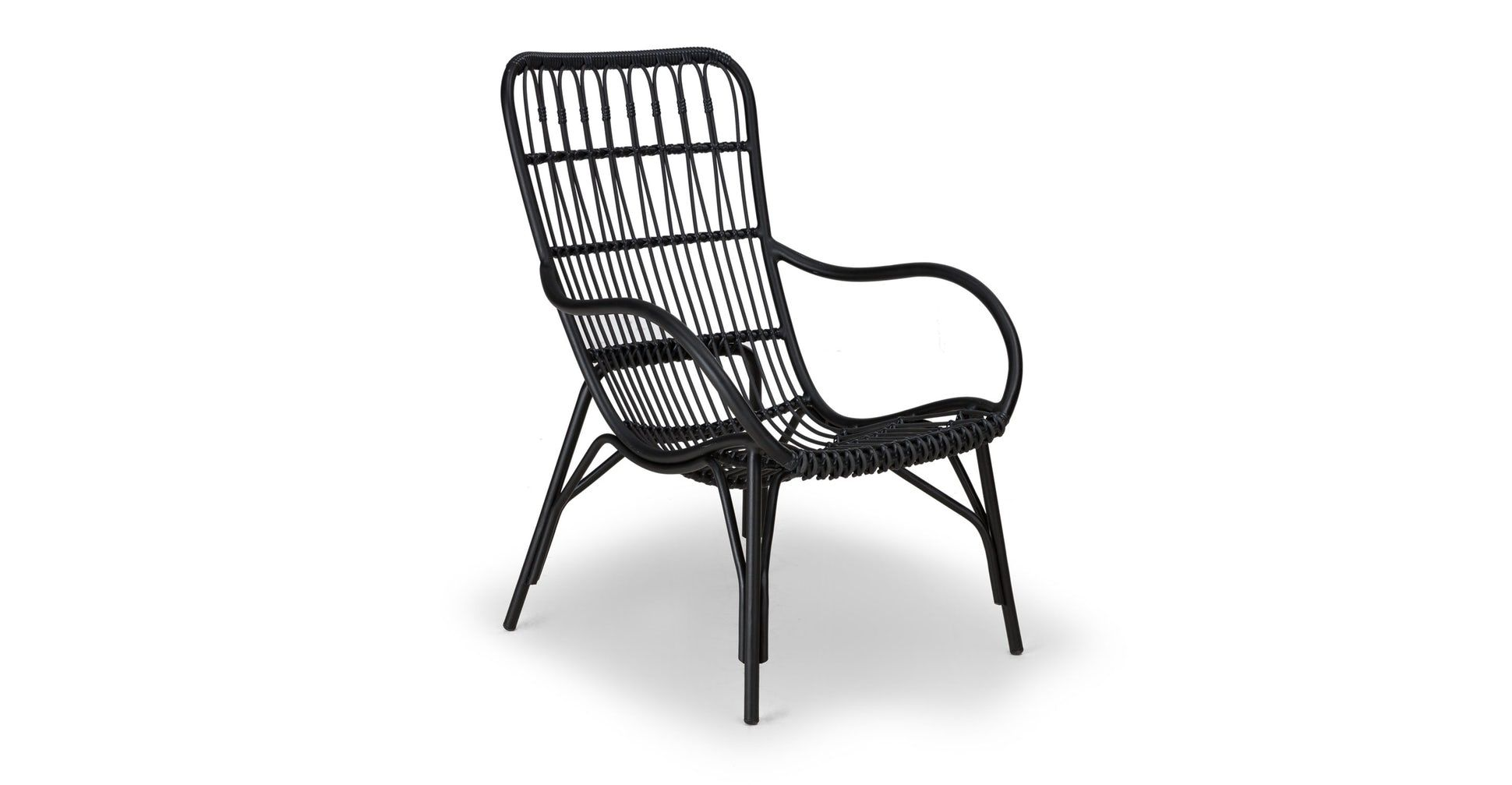 Medan Graphite Lounge Chair in 2020 Lounge chair outdoor