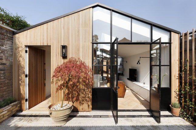Une petite maison d 39 architecte et sa cour architecture courtyard house modern small house - Petite maison architecte ...