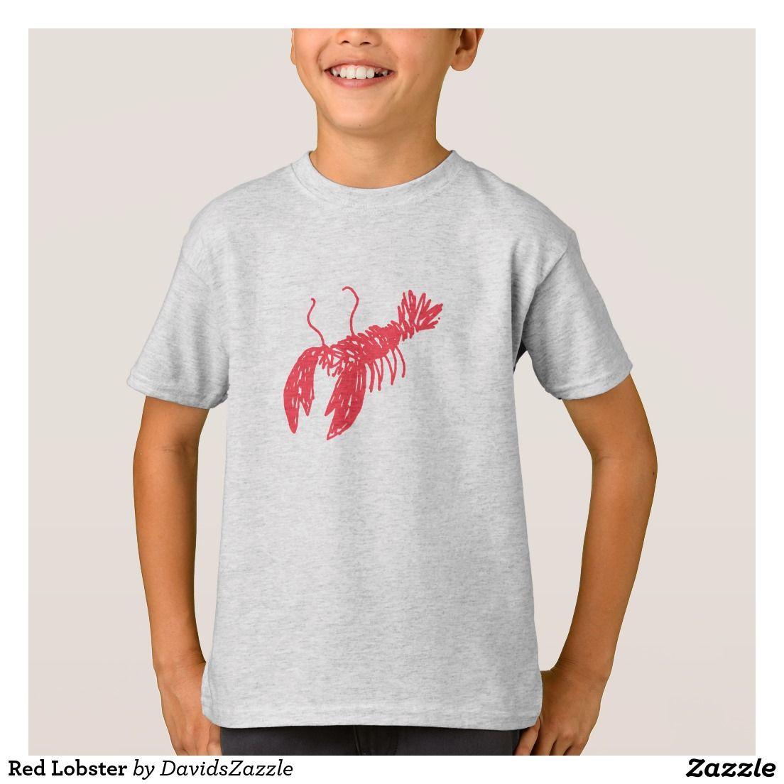Red Lobster TShirt Cartoon t shirts