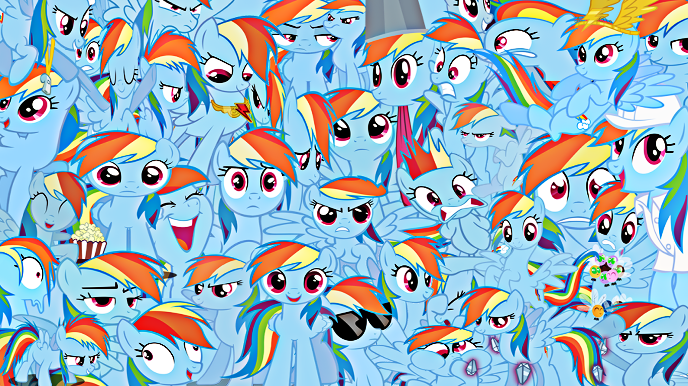 My Little Pony: Friendship is Magic All Rainbow Dashes