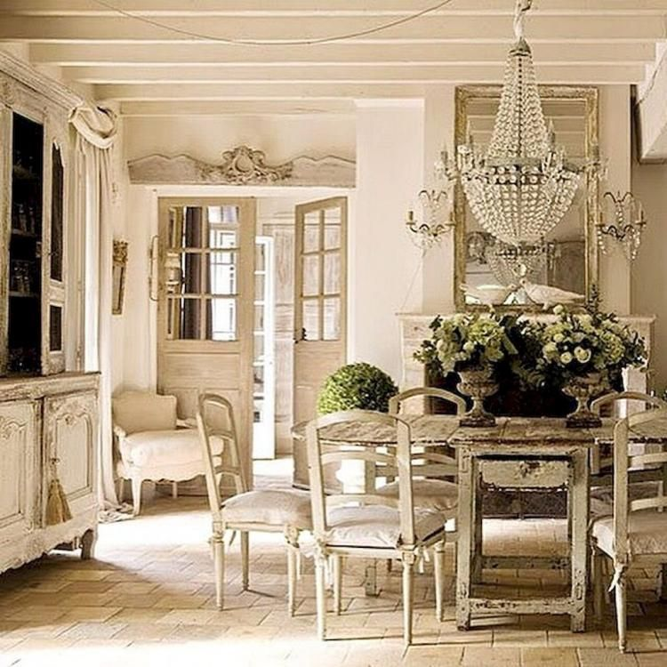 Insane French Country Dining Room Decor Ideas French Country