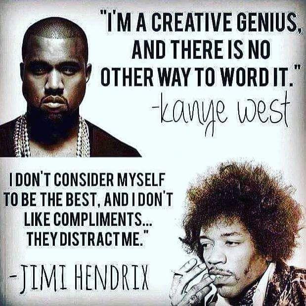 Kanye West Jimi Hendrix Memepile Jimi Hendrix Real Genius Hendrix