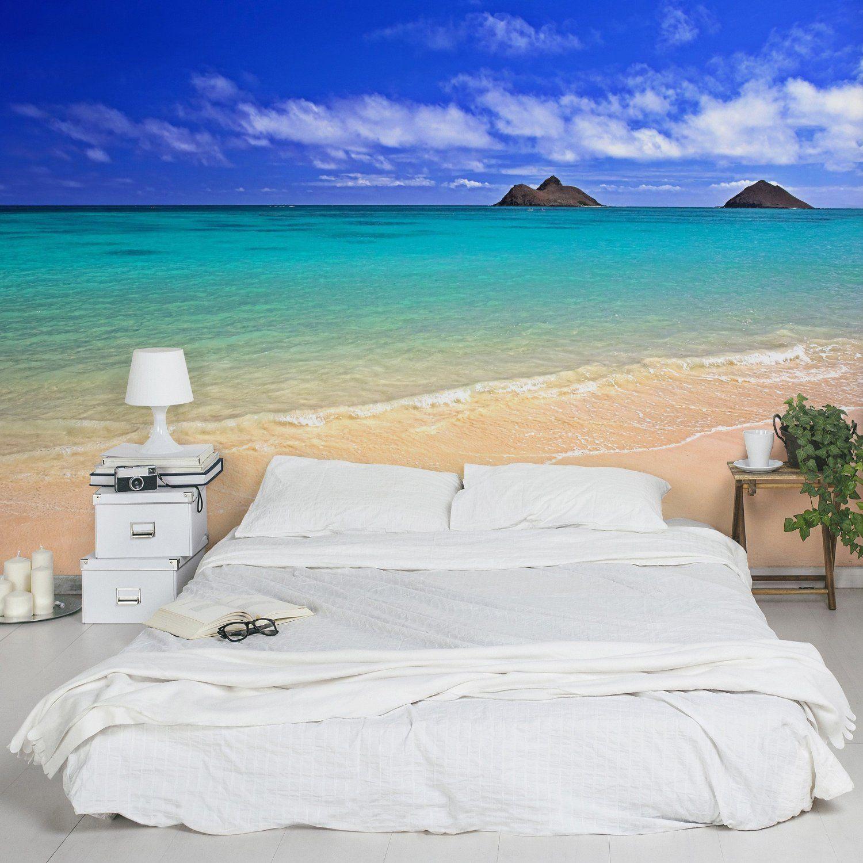Nonwoven Wallpaper Paradise Beach Mural