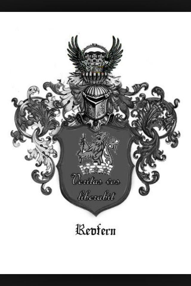 Redfern Family Name Crest Shield Tattoos Pinterest Tattoo