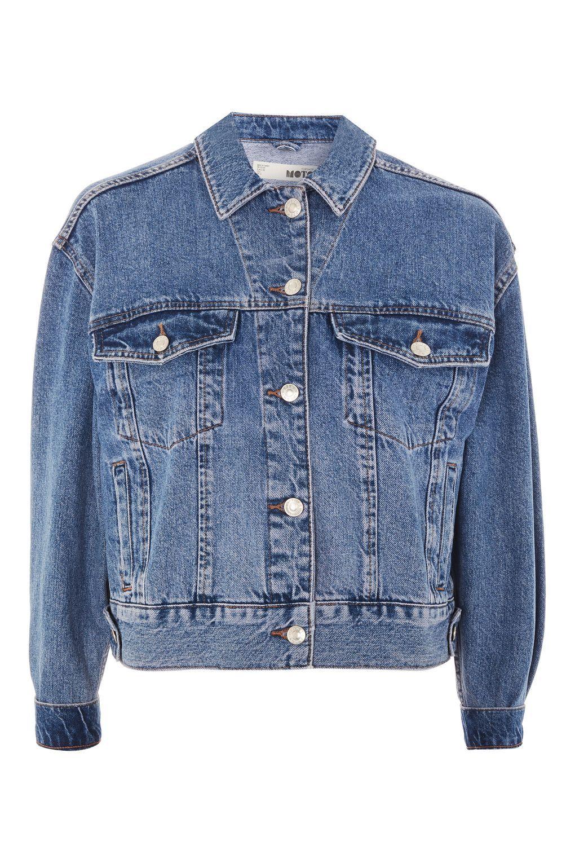 Tall Cropped Denim Jacket In 2020 Petite Denim Jacket Cropped Denim Jacket Jackets