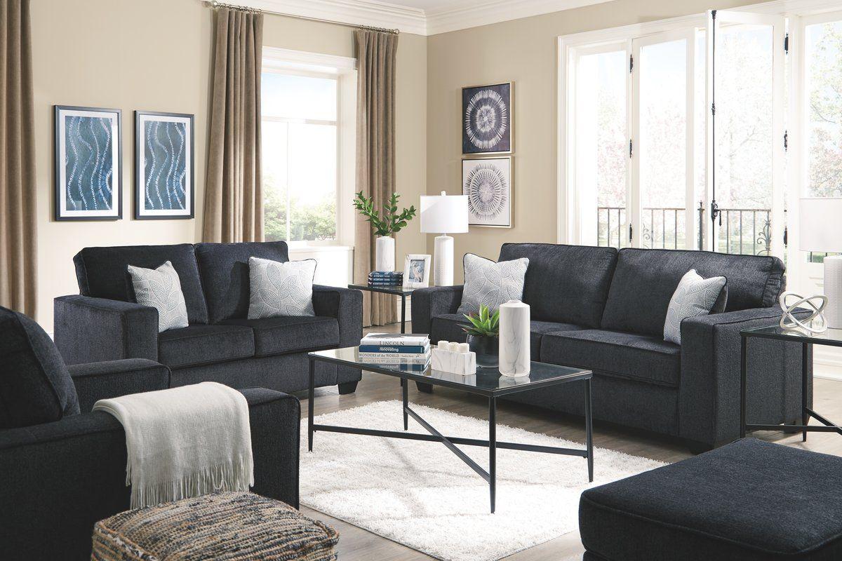 Rima Sleeper Configurable Living Room Set Sofa And Loveseat Set Slate Sofa Living Room Sets