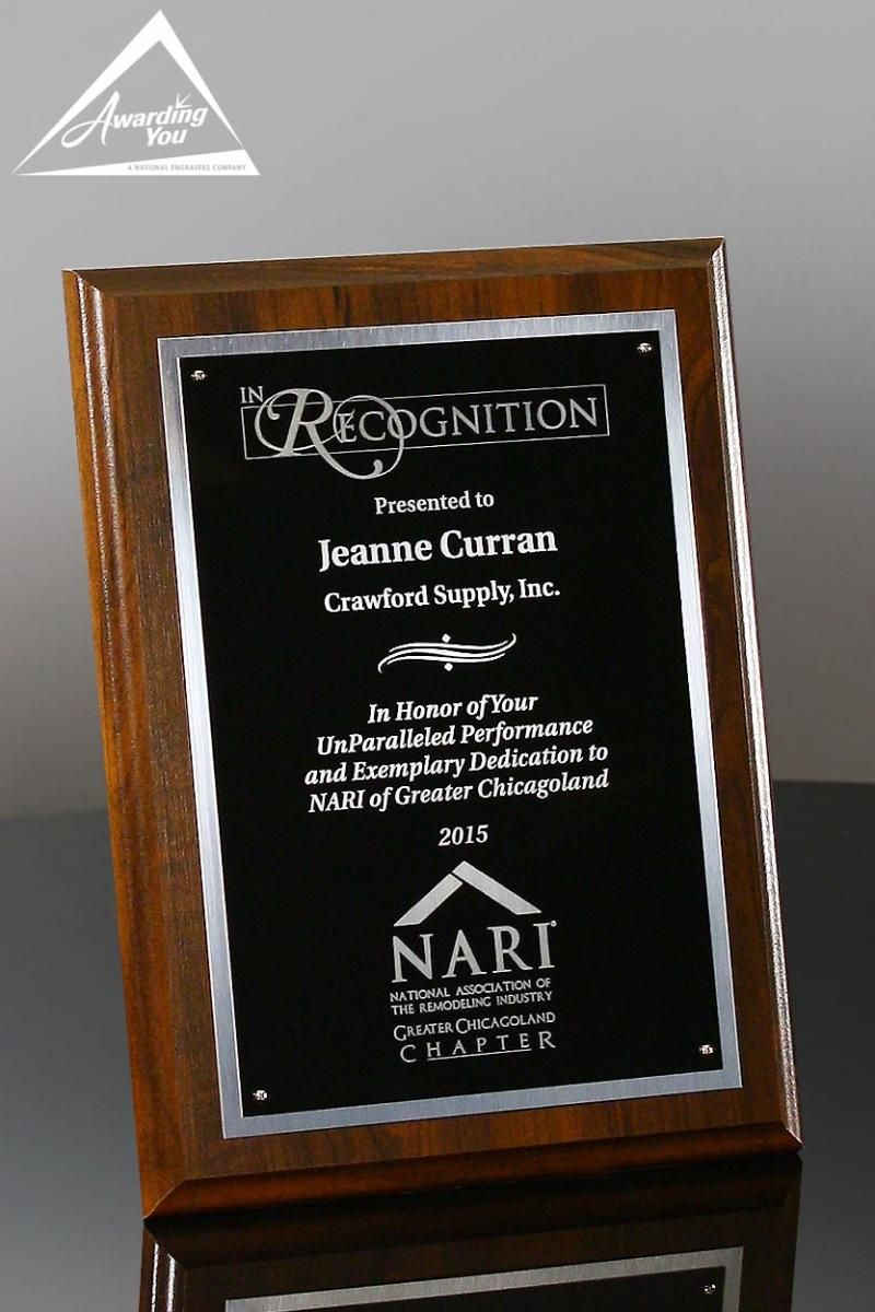 plaque of appreciation template - years of service award ideas and employee recognition