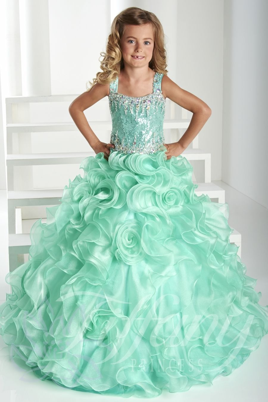 Tiffany Princess Little Girls Dress 13412 - Everything4pageants.com ...