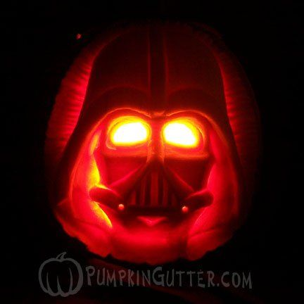 explore halloween pumpkin carvings and more - Halloween Darth Vader