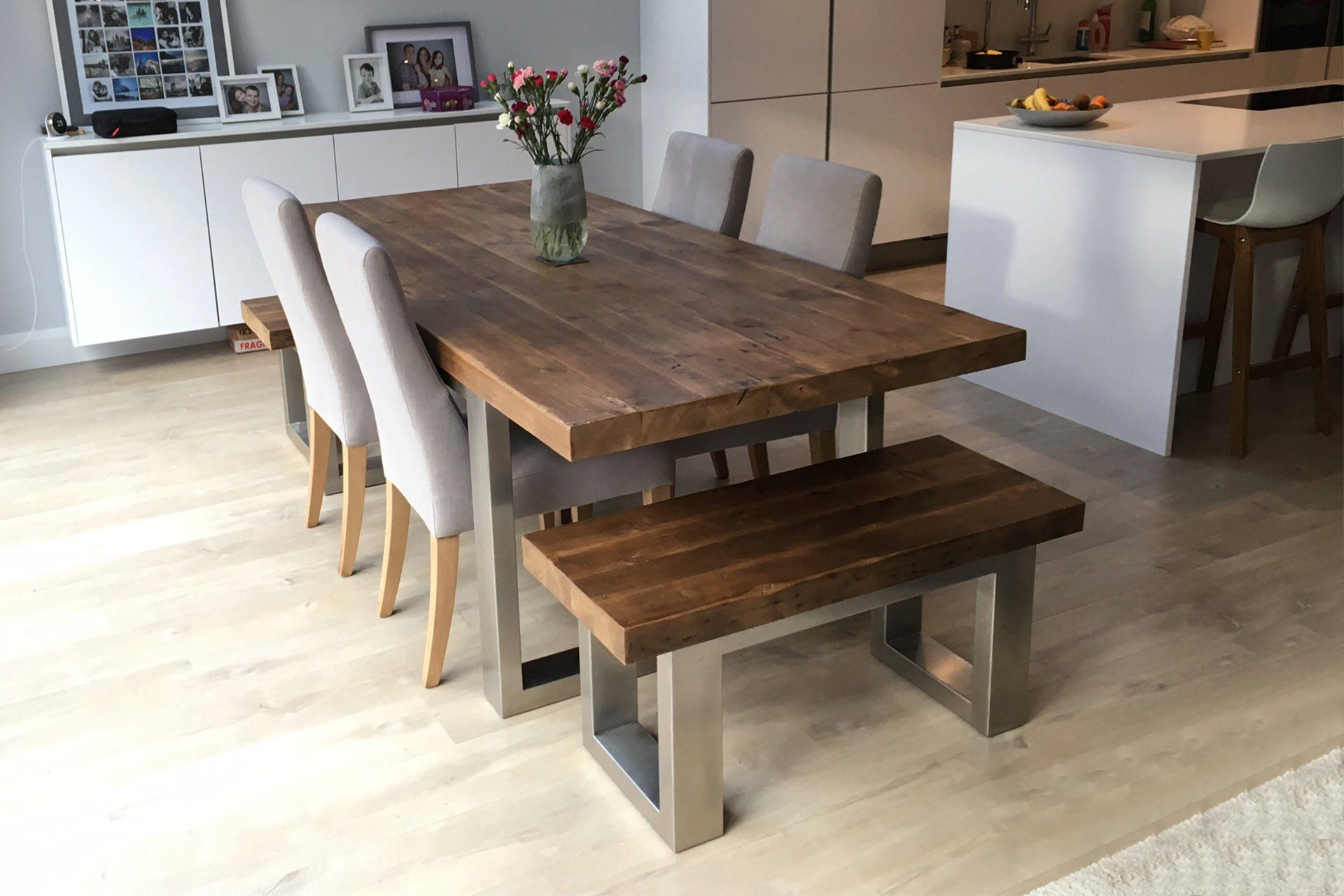 Cavendish Dining Table Long Overhang In 2020 Large Wooden