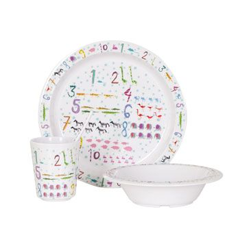 Kids Numbers Tableware - Tableware - Tableware - United Kingdom