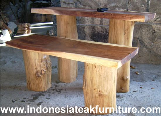 Strange Bench From Tree Stumps Not This Height Kiddy Height For Uwap Interior Chair Design Uwaporg