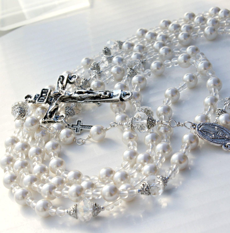 Custom rosary wedding lasso wedding lazo by