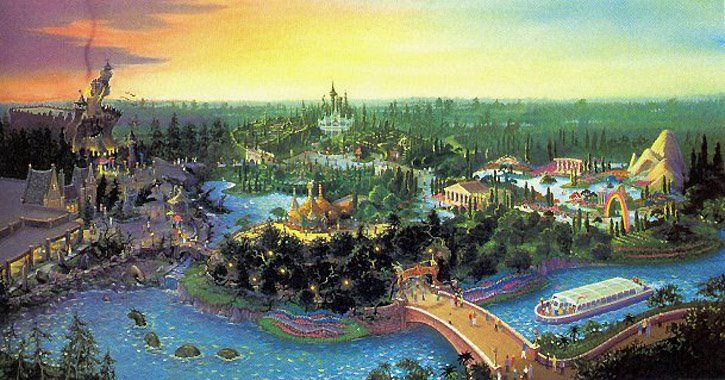 Beastly Kingdom Overview, Disney's Animal Kingdom, Walt Disney World (never built)