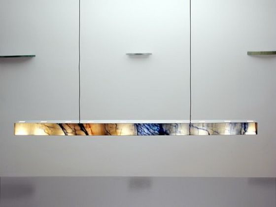 Superior GIO CARRE_X_60 MACAUBAS Linear Pendant Light Gallery