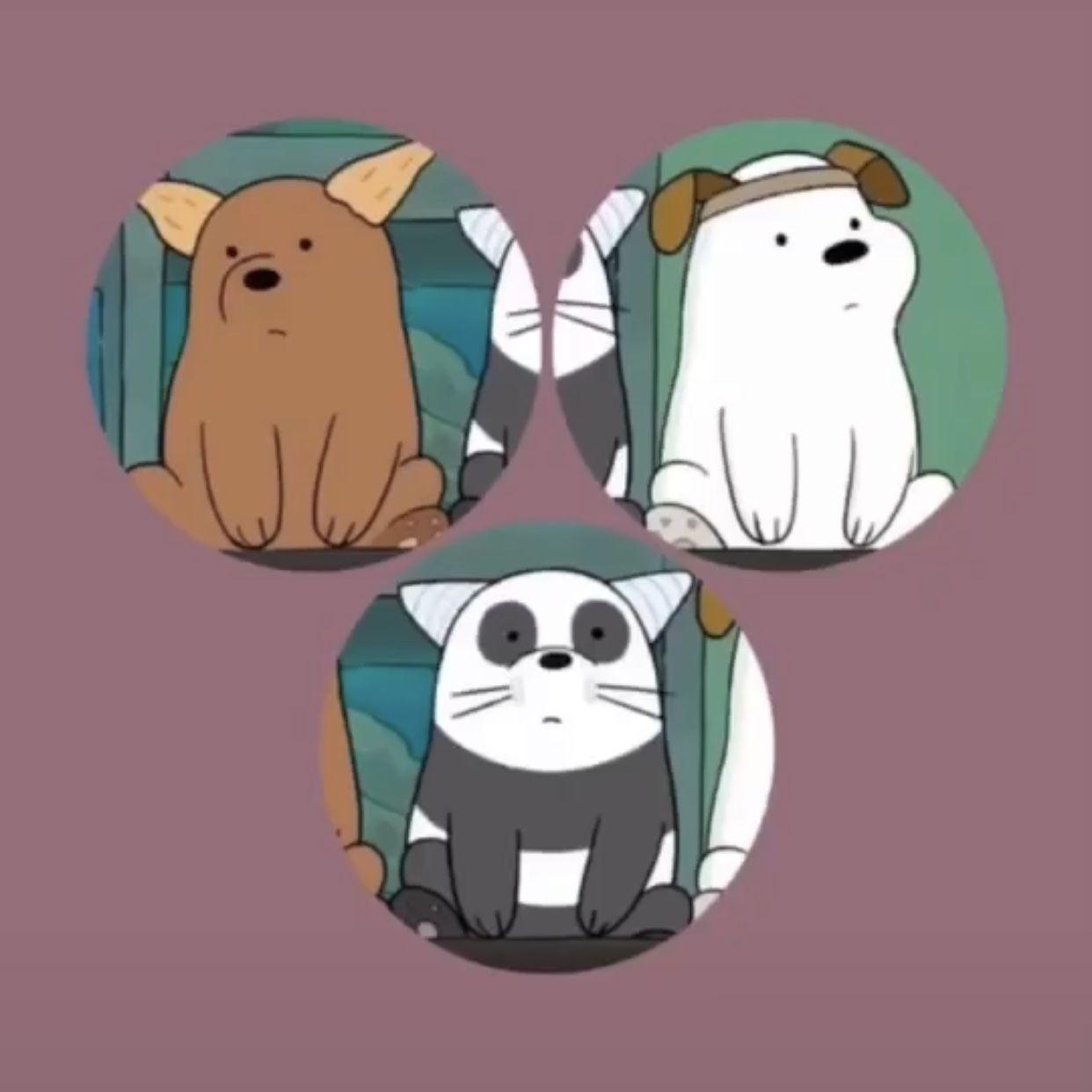Metadinha De Trio Best Friends Cartoon Cute Cartoon Wallpapers Cute Profile Pictures