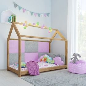 Vicco Vicco Kinderbett 90x200 Cm Kinderhaus Massivholz Bett Kinder