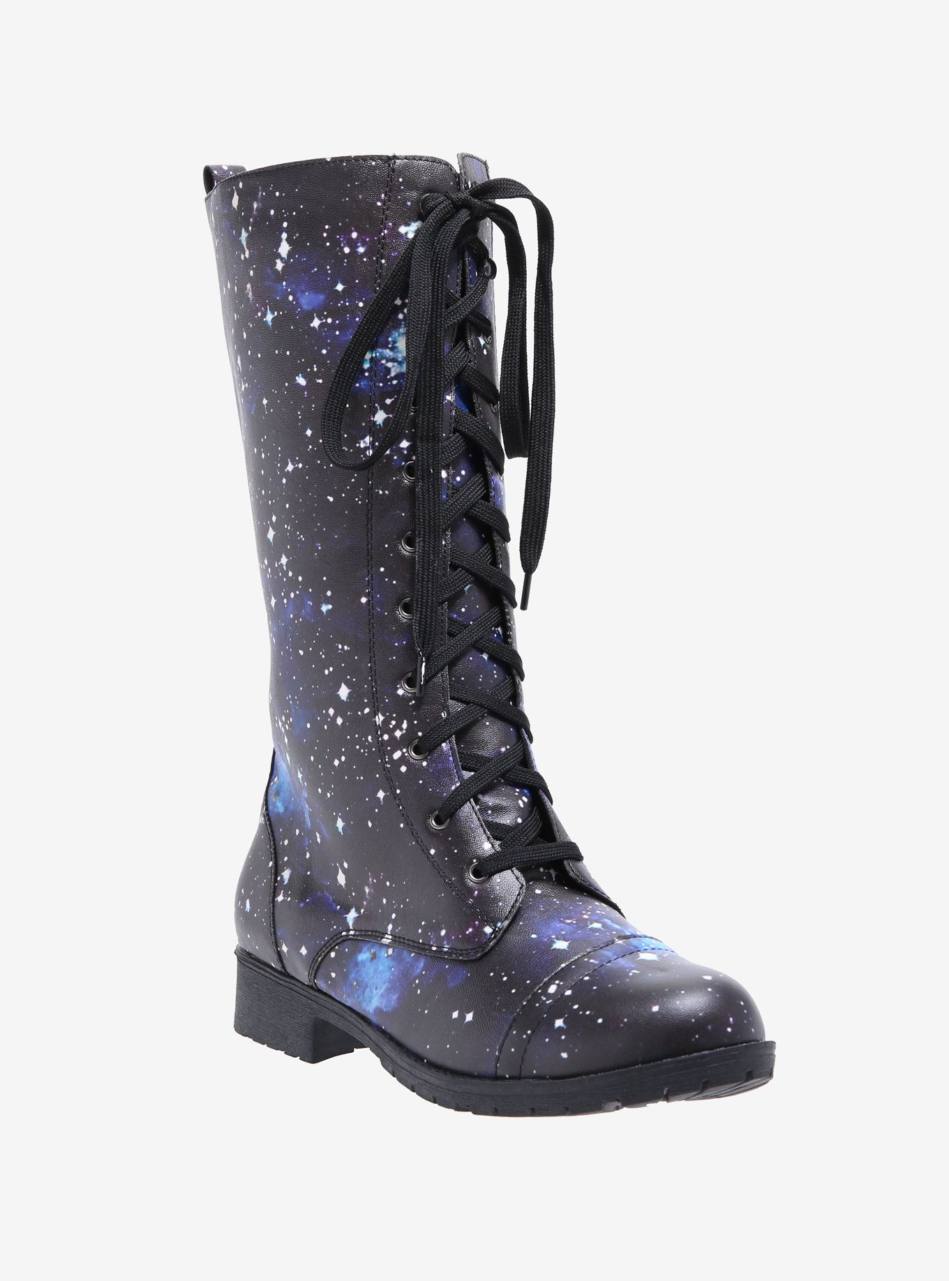 Galaxy Tall Combat Boots   Tall combat