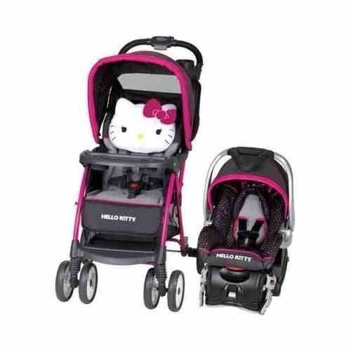 Car Seat Stroller Combo Hello Kitty Car Travel System Baby Trend Infant Girls Hello Kitty Baby Baby Doll Strollers Hello Kitty Car