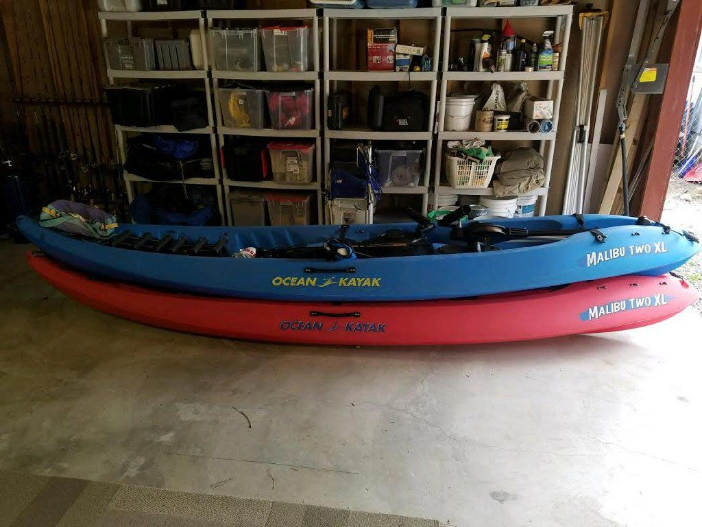 2 Malibu XL Kayaks Sporting Goods BigBearLake, CA at