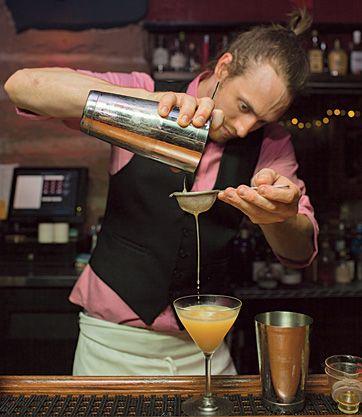 Green Russell, Denver - speakeasy with great cocktails! via Visit Denver