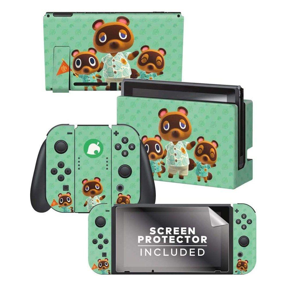 리뷰 닌텐도 스위치 모여봐요 동물의 숲 도크 스킨 스티커 2020 닌텐도 동물 게임 컨트롤러