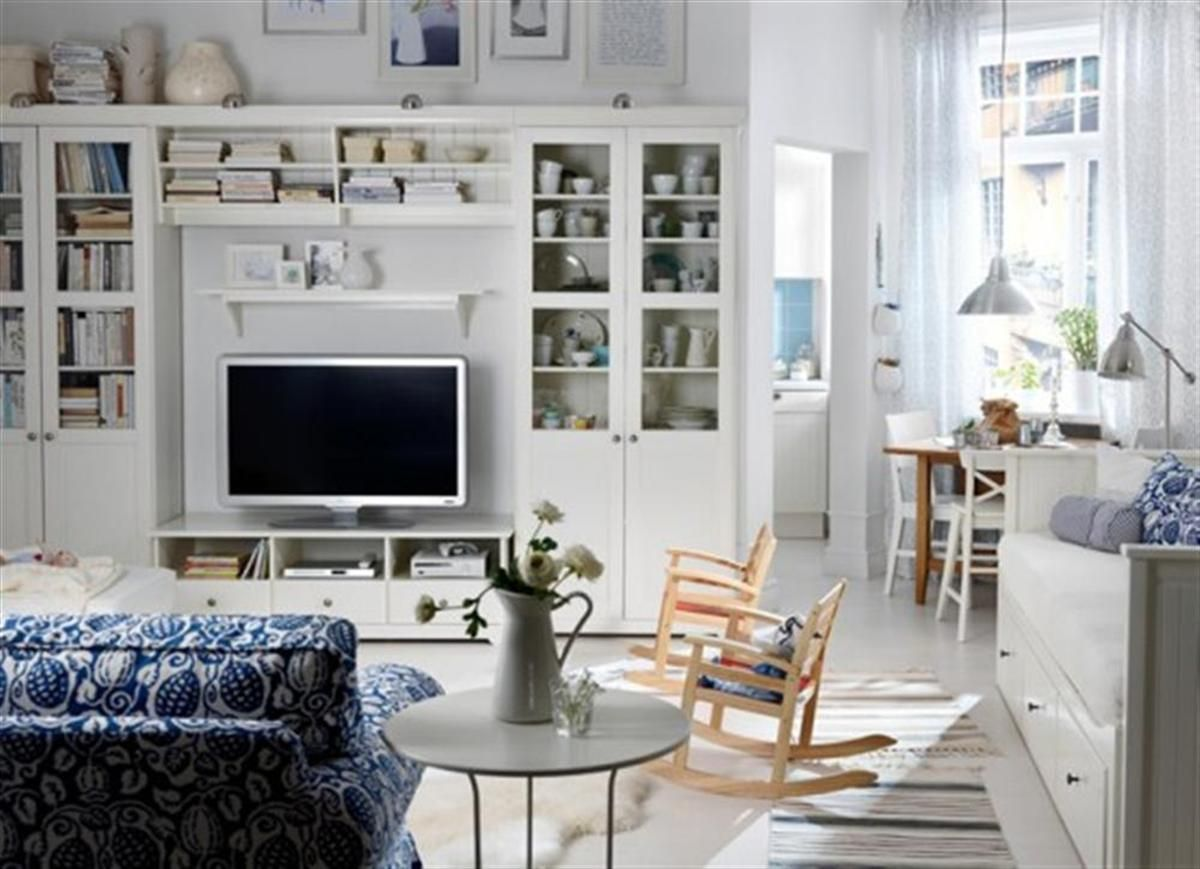 stunning white ikea living room design ideas with