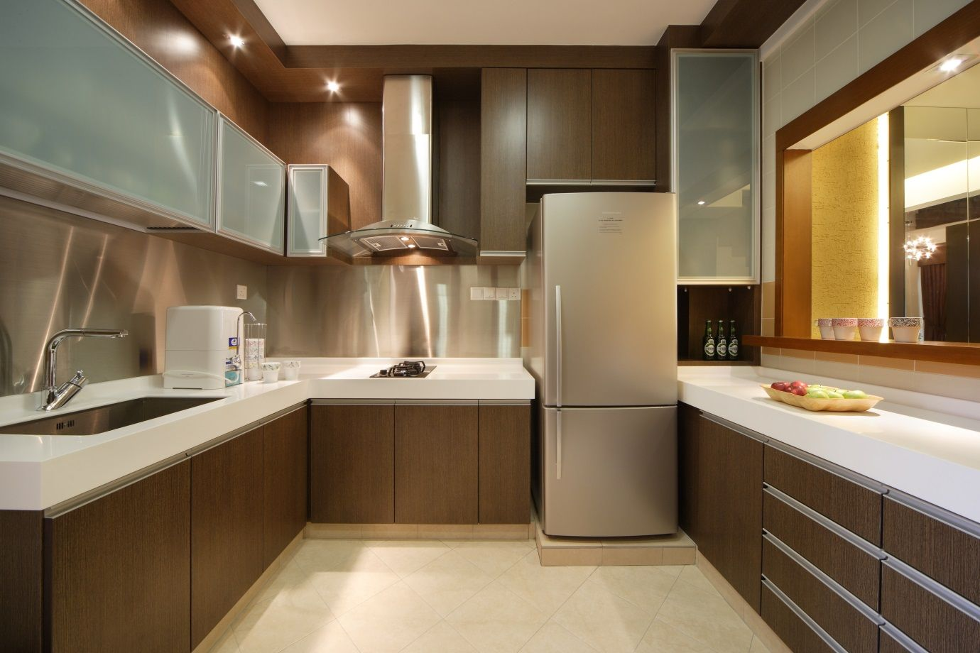 Malaysia modern kitchen cabinet design google search architectural interior design Kitchen backsplash ideas singapore