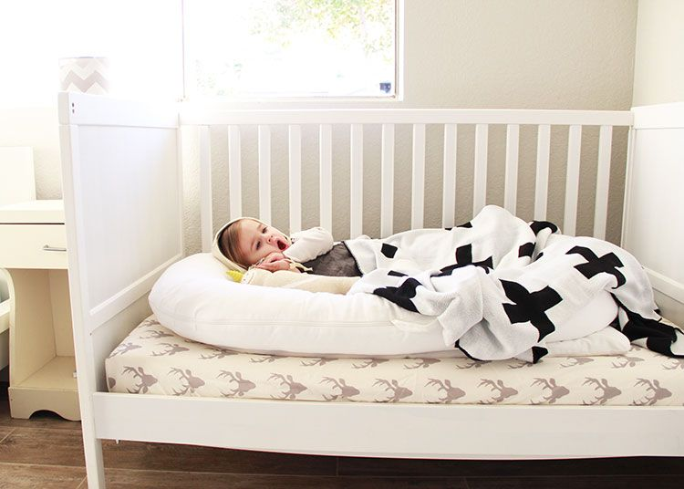 Our Crib Does Convert Into A Toddler Bed But There Is No Built In