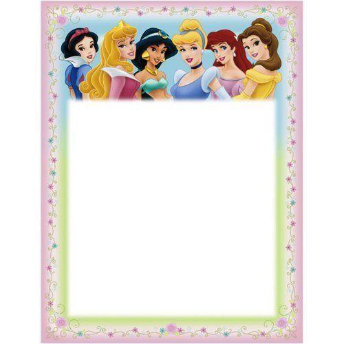 Disney Princess Birthday Card Printable Free Elegant Invitations