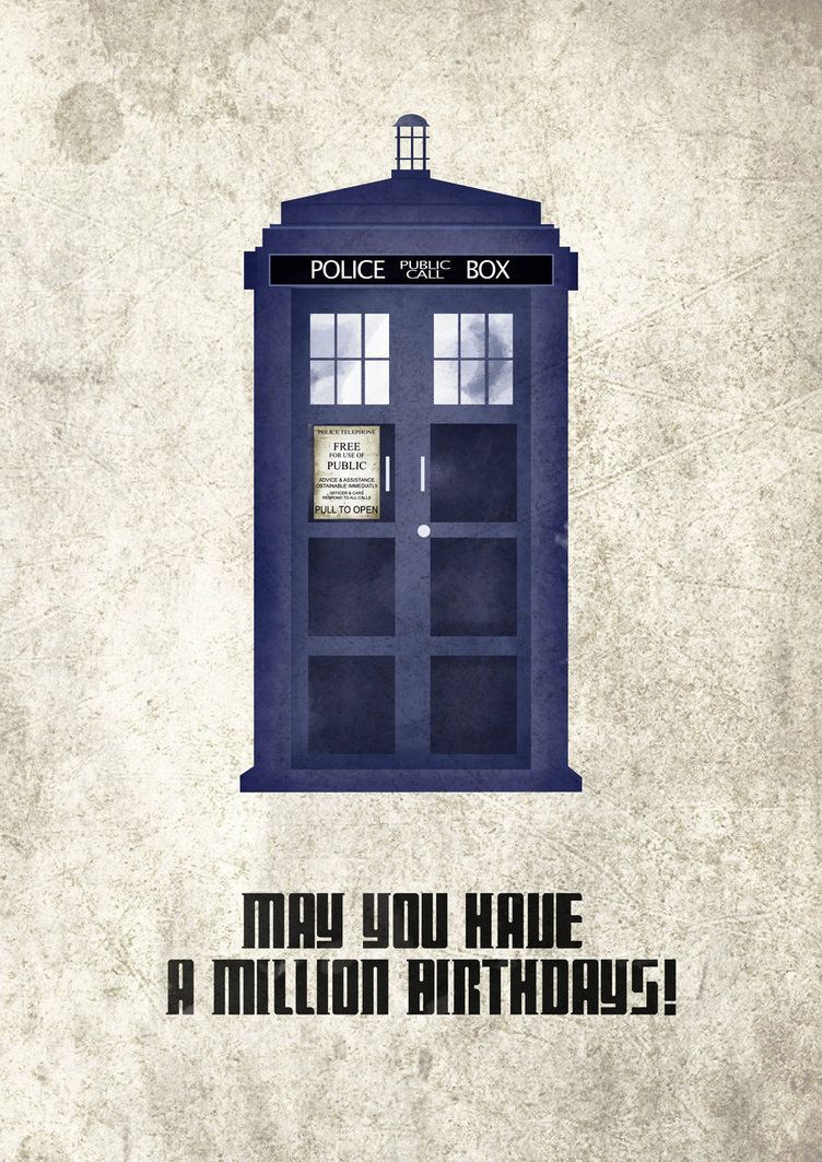 Happy Birthday From Doctor Who By Axnakshan With Images