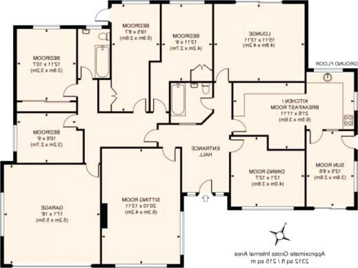 Beautiful Simple Four Bedroom House Plans Design | House ...